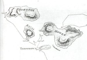 Detail  from Chart of the Sandwich Islands