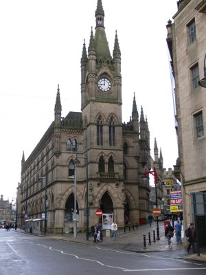 The Wool  Exchange with its magnificent tower