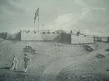 Sketch of the  north-west view of the Prince of Wales Fort